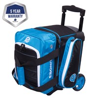 Ebonite Eclipse Single Roller Blue Bowling Bags