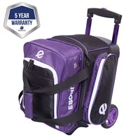 Ebonite Eclipse Single Roller Purple Bowling Bags