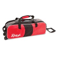 Radical Triple Tote/Roller Red/Black Bowling Bags