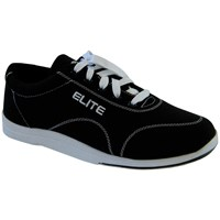 Elite Mens Casual Black Bowling Shoes