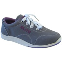 Elite Womens Casual Grey Bowling Shoes