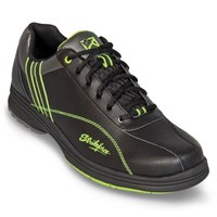 KR Strikeforce Mens Raptor Black/Lime Right Hand - ALMOST NEW Bowling Shoes