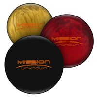 Ebonite Mission Unknown Limited Edition Bowling Balls