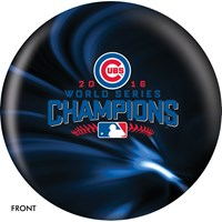 OnTheBallBowling MLB Chicago Cubs World Series Champions 2016 Bowling Balls