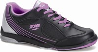Storm Womens Windy Black/Violet -ALMOST NEW Bowling Shoes