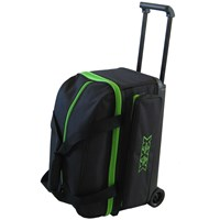 Tenth Frame Classic Double Roller Black/Lime Bowling Bags