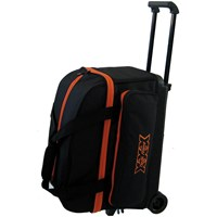 Tenth Frame Classic Double Roller Black/Orange Bowling Bags