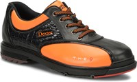 Dexter Mens THE 9 LE Black/Orange Bowling Shoes
