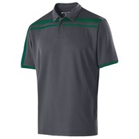Holloway Mens Charge Polo Carbon/Forest