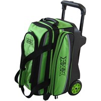 Tenth Frame Deluxe Double Roller Lime Bowling Bags