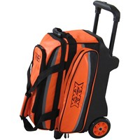 Tenth Frame Deluxe Double Roller Orange Bowling Bags