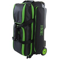 Tenth Frame Deluxe 3 Ball Roller Lime Bowling Bags