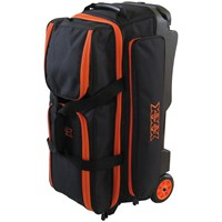 Tenth Frame Deluxe 3 Ball Roller Orange Bowling Bags