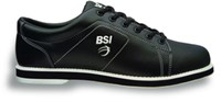 BSI Mens Classic Black-ALMOST NEW Bowling Shoes