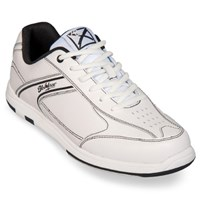 KR Strikeforce Mens Flyer White/Black-ALMOST NEW Bowling Shoes