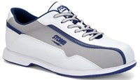 Storm Mens Volkan White/Grey/Blue-ALMOST NEW Bowling Shoes