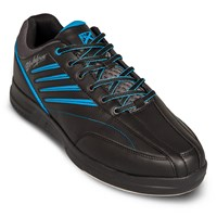 KR Strikeforce Mens Crossfire Lite Black/Blue Bowling Shoes