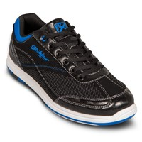 KR Strikeforce Mens Titan Black/Royal Bowling Shoes