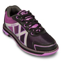 KR Strikeforce Womens Kross Black/Purple Bowling Shoes