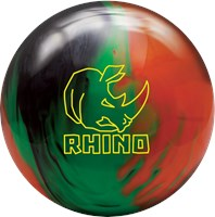 Brunswick Rhino Black/Green/Orange Pearl Bowling Balls