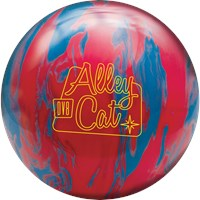 DV8 Alley Cat Red/Electric Blue with Free Bag Bowling Balls