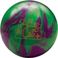 DV8 Alley Cat Purple/Green with Free Bag Bowling Balls