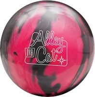 DV8 Alley Cat Pink/Black with Free Bag Bowling Balls