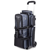 Storm Rolling Thunder 3 Ball Roller Charcoal Plaid/Grey/Black Bowling Bags