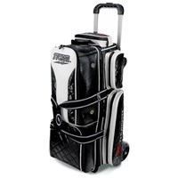 Storm Rolling Thunder 3 Ball Roller Signature Black Bowling Bags