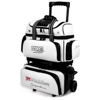 Storm Rolling Thunder 4 Ball Roller Signature Black/White Bowling Bags