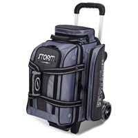 Storm Rolling Thunder 2 Ball Roller Charcoal Plaid/Grey/Black Bowling Bags
