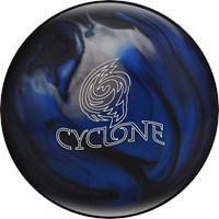 Ebonite Cyclone Blue/Black/Silver Bowling Balls