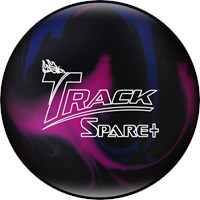 Track Spare + Purple/Blue/Black Bowling Balls