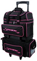 Storm Streamline 4 Ball Roller Black/Pink Bowling Bags