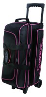Storm Streamline 3 Ball Roller Black/Pink Bowling Bags