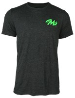 Motiv Mens Revolution T-Shirt Charcoal/Green