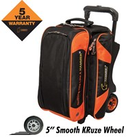 Hammer Premium 2 Ball Roller Black/Orange Bowling Bags