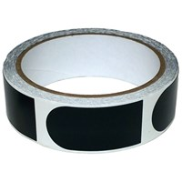 Powerhouse Premium 1'' Black Tape 100 Roll