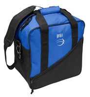 BSI Solar III Single Tote Black/Royal Bowling Bags