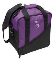 BSI Solar III Single Tote Black/Purple Bowling Bags