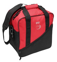 BSI Solar III Single Tote Black/Red Bowling Bags