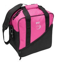 BSI Solar III Single Tote Black/Pink Bowling Bags