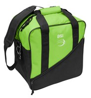 BSI Solar III Single Tote Black/Lime Bowling Bags