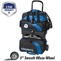 Ebonite Equinox 4 Ball Roller Royal Bowling Bags
