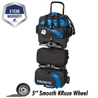Ebonite Equinox 6 Ball Roller Royal Bowling Bags
