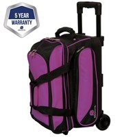 Ebonite Transport II Double Roller Purple Bowling Bags