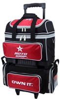 Roto Grip 4 Ball Roller Red/Black R4302 Bowling Bags