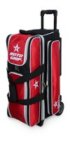 Roto Grip 3 Ball Roller Red/Black R3302 Bowling Bags