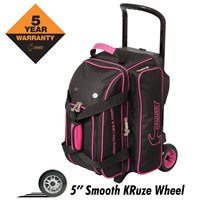 Hammer Signature Double Roller Black/Magenta Bowling Bags