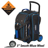 Hammer Signature Double Roller Black/Royal Bowling Bags